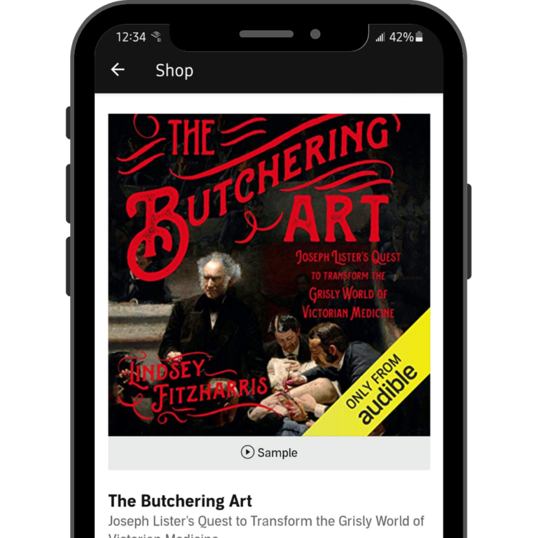 The Butchering Art Book on Audible